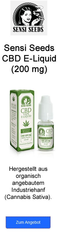 Sensi Seed CBD E-Liquid
