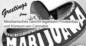 Mexiko legalisiert Cannabis