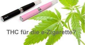 THC für die eZigarette