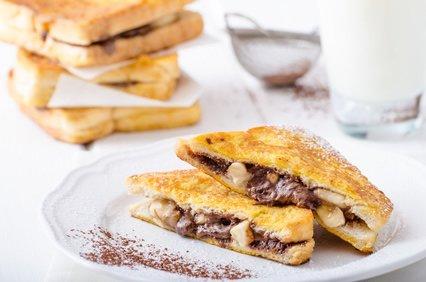 Canna-Nutella French Toast – der perfekte Start in den Tag