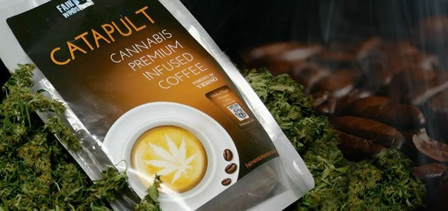 Premium Kaffee mit Cannabis