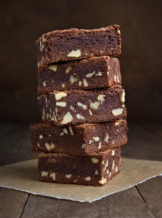 Superfudgy Cannabis-Brownies