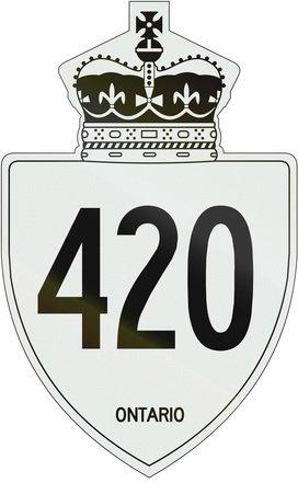 420 Straßenschild