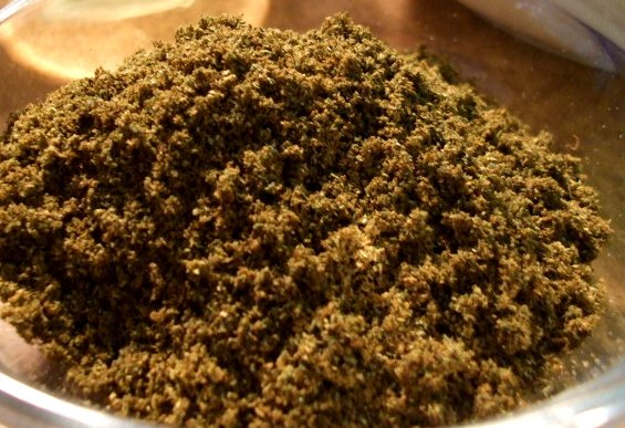 Cannabis Mehl