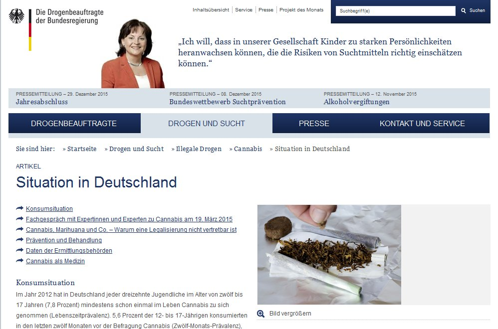 """Das Projekt """"Cannabis-Agentur"""" war ein Vorstoß der CSU"""