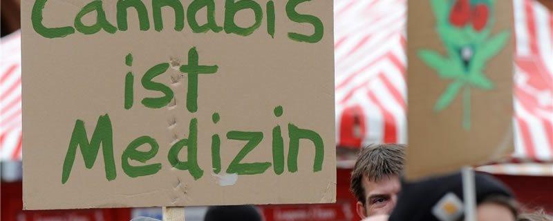 Demo zur Cannabis Legalisierung