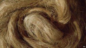 Die Fasern der Hanfkleidung