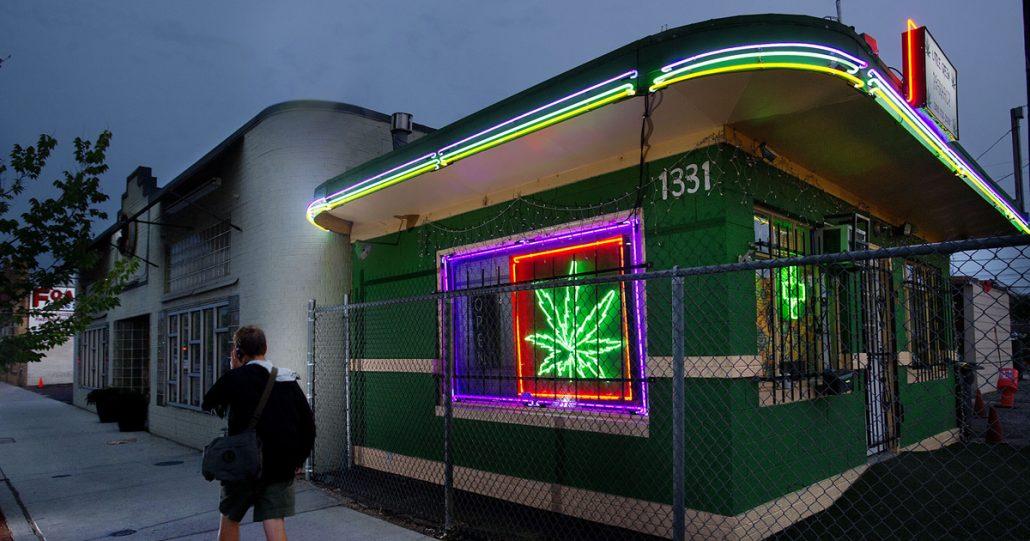 Cannabis Verkauf in den USA