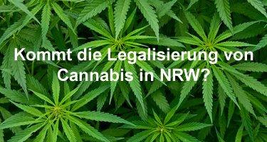 Kommt die Legalisierung von Cannabis in NRW