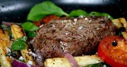 Steak Salat