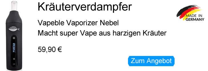 Vapeble Vaporizer Nebel