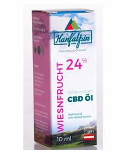 CBD Öl 24% Hanfapin