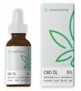 CBD Öl 15% 10 ml Hanfosan