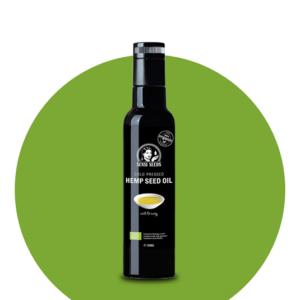 Kalt gepresstes Bio Hanföl (250ml)