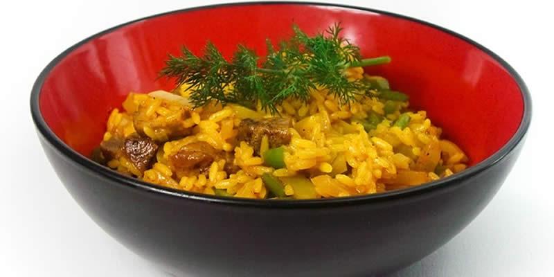 Cannabis Curry Reis Pilaw