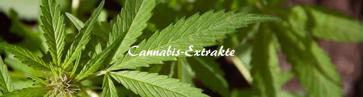Cannabis-Extrakte
