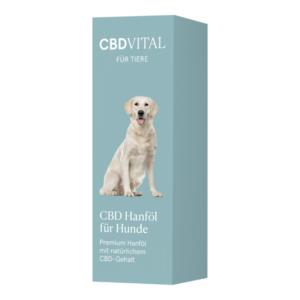 CBD Hanföl für Hunde 20ml
