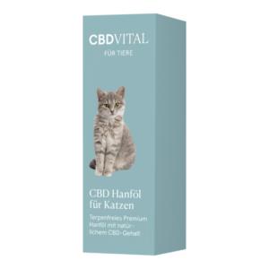 CBD Vital CBD Hanföl für Katzen 20ml