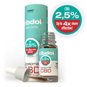 CBD Öl Liposomales CBD Öl 2.5%