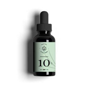 CBD-Öl 10% (10ml) in Bio-HanfÖl von VITALHemp